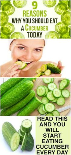Read This and You Will Start Eating Cucumber Every Day