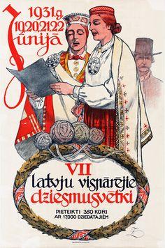 VII latvju vispārējie Dziesmu svētki 1931.g. 19., 20., 21., 22.jūnijā