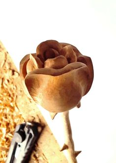 Decorative Wooden Rose handmade. Can be applied as a Gift or for Home Decoration. Material: Limewood Misurements: L 15,7 Weight:0,1 kg. Please contact me if you have a questions about. Thanks for visiting.