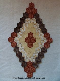 Block 26 - This is one of a pair of blocks for my Godstone Grannies coverlet/quilt.