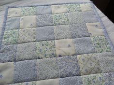 Doll's Patchwork Cot Quilt by JemimahJane on Etsy, £16.00