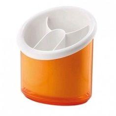 Guzzini Egouttoir à couverts bicolore blanc / orange 15.90 € livré gratuitement dans le relais colis de votre choix !