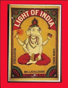 Light of India Indian Matchbook Art 24 Cards Redstone Rothenstein Hindu Weird 0811821226 | eBay
