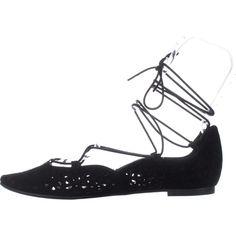 edd9f96f109c Nine West Womens Zavanna Leather Almond Toe Ankle Wrap Black SU Size 9.0 --  You
