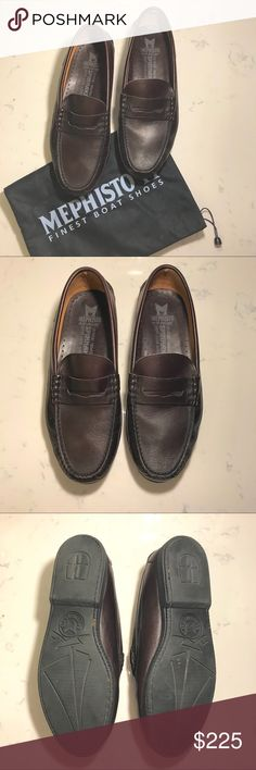 """Mephisto Spinnaker """"Cap Vert"""" Loafers 👞 Mephisto Spinnaker """"Cap Vert"""" Loafers 👞  ONLY WORN ONCE Size: 9 1/2 Color: Cordovan Leather  Easy slip-on style. Padded tongue reduces pressure points. Smooth leather lining for additional comfort. Air-Relax footbed for optimal comfort and breathability. 100 % Caoutchouc outsole for a pleasurable walking experience. Mephisto Shoes Loafers & Slip-Ons"""