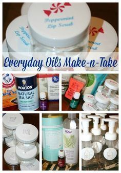 Everyday Oils Make-n-Take