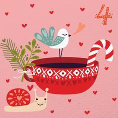 Caroline Alfreds illustrated advent day 4
