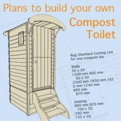 plans to build compost toilet                                                                                                                                                      More
