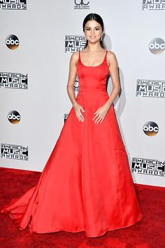Actress Selena Gomez attends the 2016 American Music Awards at Microsoft Theater on November 20 2016 in Los Angeles California