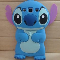 New 3D Blue Monster Samsung Galaxy S3 i9300 Case