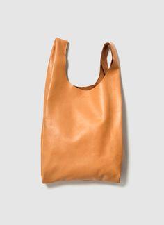 Baggu Leather Small Bag. Simplicity perfected. love baggu!