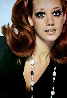 Marisa Berenson photographed by Willy Rizzo, Arianna (Italy) December 1968