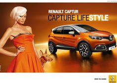 Print advertisement created by Publicis, Bulgaria for Renault, within the category: Automotive. Advertising Ads, Creative Advertising, Car Prints, Ad Of The World, Strapless Dress Formal, Formal Dresses, Fashion Brand, Cool Outfits, Vogue