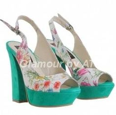 Glamour by AT Sandale piele Alb Flori Verde smarald - http://outlet-mall.net/outlet/outlet-incaltaminte-femei/glamour-by-at-sandale-piele-alb-flori-verde-smarald/
