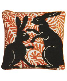 Boxing Hares Tapestry Kit, Fine Cell Work. Shop more tapestry kits from the latest haberdashery collection online at Liberty.co.uk