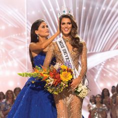 THE NEWLY CROWNED Miss Universe is also a dental student, and is a huge advocate for oral health! Congratulations!