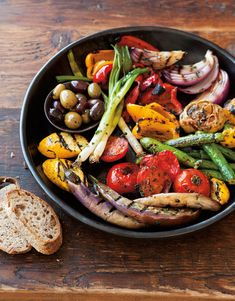 Antipasto Grill   This recipe makes wonderful use of all of summer's bounty. It's the perfect option for a backyard get-together when you can mingle around the grill.
