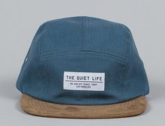 Cord Combo 5-Panel Hat by THE QUIET LIFE