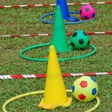 Obstacle course: Your PE teacher might be able to help you set up a challenging yet doable obstacle course. Use a timer and post the names of students who get through the course the fastest.