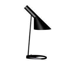 AJ Bord Sort Bordlampe designet af Arne Jacobsen.