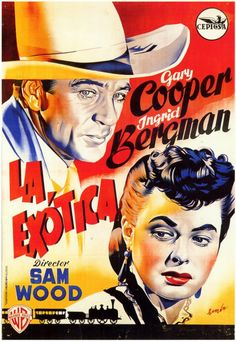 Saratoga Trunk (Spanish) 11x17 Movie Poster (1946)
