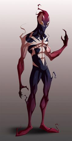 Spiderman - Ultimate Symbiote [WIP] by TheRedVampx1