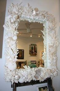 seashell mirror - Google Search