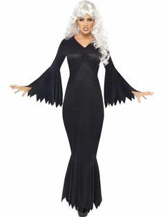 Halloween Noir, Black Halloween Costumes, Halloween Fancy Dress, Halloween Vampire, Halloween Horror, Adult Halloween, Halloween Cosplay, Halloween Party, Fancy Black Dress