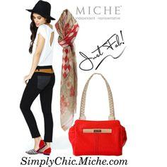 """Miche Petite Mimi"" by miche-kat on Polyvore http://www.simplychicforyou.com/  Miche Petite Mimi #michebag #Interchangeablepurse"