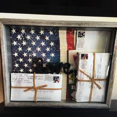 DIY Shadow Box for Your Deployment or Boot Camp Letters - Military spouses this is the perfect project for you to share and display your love through letters during deployment or boot camp! Deployment Letters, Military Deployment, Military Girlfriend, Army Mom, Military Spouse, Military Life, Army Life, Military Letters, Camp Letters