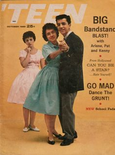 October 1959 -OMG  Loved Dick Clark  American Bandstand.  Every day after school ran home to watch.