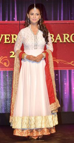 Adaa Khan at a TV channel's launch. #Style #Bollywood #Fashion #Beauty