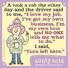 Aunty Acid On Driving - The Best Way To Honk