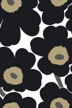 Flower Wallpaper, Mobile Wallpaper, Pattern Wallpaper, Iphone Wallpaper, Textures Patterns, Color Patterns, Cool Wallpapers Patterns, Wall Stickers Cool, Marimekko Wallpaper