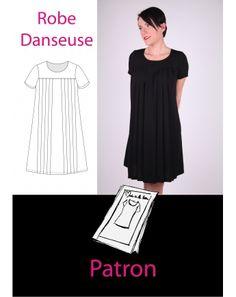 "Patron de Robe ""Danseuse"" thermocollant Marque:Made in Me Couture"