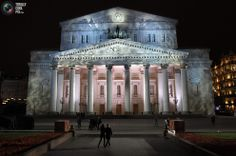 The Bolshoi Theater, Moscow Russia