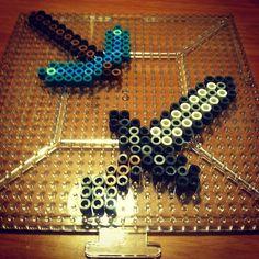 Minecraft perler beads by ichigootaku