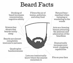 Beard Wisdom #beardfacts #beardfun #smoothviking #beardbalm #beardconditioner #beardoil