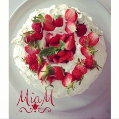 Angel Food Cake aux fraises