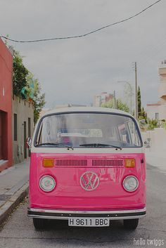 I've wanted a mini bus for years... And I wouldn't say no to it being pink.