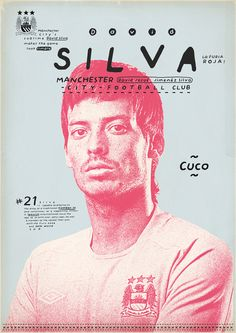 Silva: Zoran Lucić shows all its love for the round ball. Around graphic designs on the biggest players of the history of football, the Bosnian artist manages to emphasize these sportsmen of passed and the present.