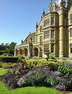 Tyntesfield - near Wraxall, North Somerset, England - built on the site of a century hunting lodge - Georgian & Victorian Gothic Revival architecture - remodeled & enlarged in - listed building Bristol England, Somerset England, England And Scotland, Bristol Uk, English Manor Houses, English Castles, Palaces, North Somerset, Second Empire