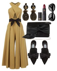 """""""Untitled #161"""" by tjwstyleconsultant on Polyvore featuring Temperley London, Prada, Victoria Beckham, Gucci, Acne Studios and Lipstick Queen"""