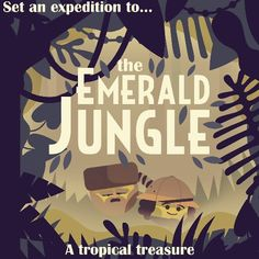 Two Dots Emerald Jungle