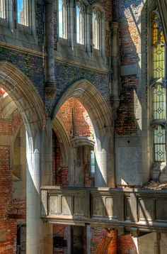 Abandoned City Methodist Church, Gary, Indiana by Timothy Neesam (GumshoePhotos), via Flickr.