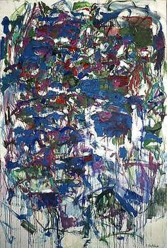 Joan Mitchell, Le Temps des Lilas, 1966, oil on canvas, h: 76.6 x w: 51 in / h: 194.56 x w: 129.54 cm