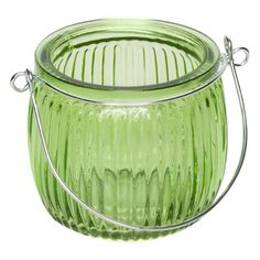Θήκη Ρεσώ Γυάλινη Λαχανί με Χερούλι 7.5x6.5 cm Compost, Baby Shower, Babyshower, Baby Showers, Composters