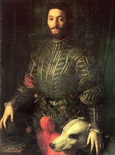 "peashooter85:  "" Portrait of Giudubaldo Della Rovera, Duke of Urbino, 16th century.  """