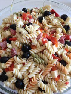 Antipasto Pasta Salad - dressing