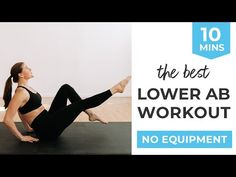Tone your lower abs with this AT HOME NO EQUIPMENT workout! It's designed to strengthen all the muscles in your core, including the tough-to-target lower bel. Amrap Workout, Full Body Hiit Workout, Abs Workout Video, Hard Workout, Workout Tips, Top Ab Workouts, Best Lower Ab Exercises, Effective Ab Workouts, Beginner Workouts